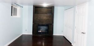 Beautiful one bedroom Basement Suite for rent immediately