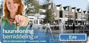 Ede-Centrum, 3-kamer appartement, 85 m2 (850,- euro p/m).