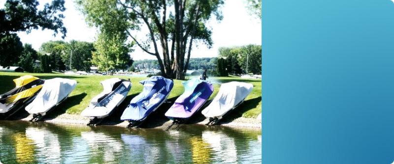 Personal Watercraft Docking Boat Ramp Dock Jet Ski