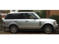 Range Rover Vogue 4.4 V8 petrol 2006 56 plate only 88,000 miles fsh excellent Condition £9750