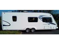 6 Berth Eccles Amethyst twin axle 2009 caravan+ extras+ site fees