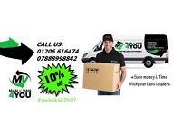 Removals, Man and van. Safe, Fast, Reliable, Affordable .Why pay more for your move?