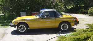1978 MGB Original paint