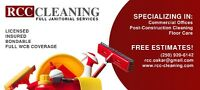 Cleaning company searching for a new clients