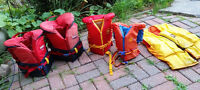 Life Jackets / Inflatable boat and toys / Wetsuits