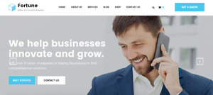 HTML 5 Template - Fortune Business/Finance Consulting Theme