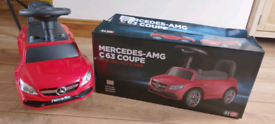 Mercedes benz c63 coupe ride on