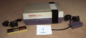 2 NES SYSTEMS FOR PARTS OR REPAIR.