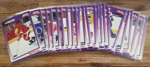 À vendre lot 23 cartes Hockey Score 1991-92 version Américaine