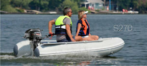 RV-BOAT IN A BAG & Motor - Portable Boat for Fishing & Touring