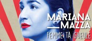 Marina Maza paire de billet 7 décembre