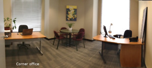 2 to 5 Person Corner Office - Fantastic Space and Location!