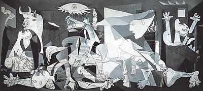 Puzzle Guernica, 3000 Teile, Panorama, Kunst, Pablo Picasso, Kubismus, Educa