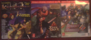 3 Classic Video Game Strategy Guides