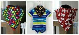 Baby Bandana Bibs ( Boys / Girls )