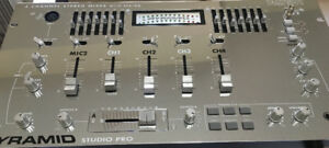 Pyramid PM7501 Studio Pro Stereo Mixer with Equalizer