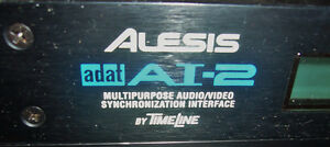 ADAT Recorder (Used) w-AI-2 Aud/Vid Sync Int Lrc Remote, Adaptor West Island Greater Montréal image 7
