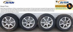 WINTER TIRES on CORE RACING RIMS - Set of 4