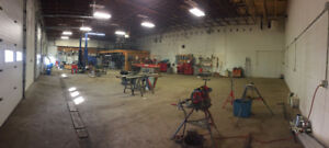 Shop for rent, 4000 sq ft.