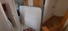 Double mattress 2 layer memory foam