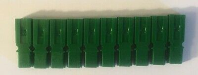 10 Pack Authentic Anderson Powerpole Green Housing 1327g5 Power Pole