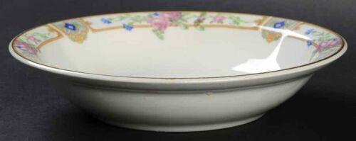 "Edwin Knowles Plaza Rim Fruit Sauce Dessert Bowl 5"" Semi Vitreous China 1925"