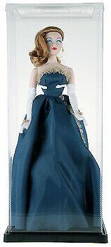 "ExpoCase Plastic Doll Display Case 6.625"" W x 6.625"" D x 17.375"" H"