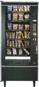 Vendo 10 selection Pop Vending Machine and a Crane 168 Snack Mac