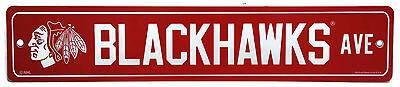 - NHL Chicago Blackhawks Plastic Street Sign Blackhawks Ave