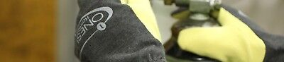 Onesuit Hazmat Gloves Nfpa 1992 Size L Manufacture Date 050418 Blk Yellow