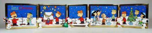 Danbury Mint:  The Peanuts Christmas Tiles, New