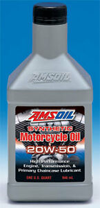 AMSOIL 20W-50 Synthetic Motorcycle Oil