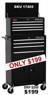 CLEARANCE ON TOOL BOXES, TOOL CHESTS, TOOL BAGS, CARGO BOXES Bundall Gold Coast City Preview