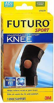 Futuro Sport Knee Support Adjust To Fit - Each, Pack of 4