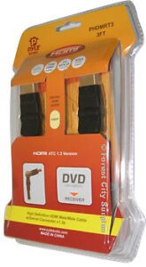 HDMI CABLES - FOR BEST PICTURE AND SOUND QUALITY ON YOUR HIGH DEFINITION TV !!