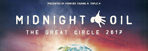 MIDNIGHT OIL 1 X Front of Stage Tickets - Standing only) Newcastle Newcastle Area Preview