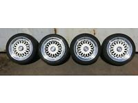 """Lenso BSX 17"""" x 7.5"""", ET20, 4x100 wheels & Tyres"""