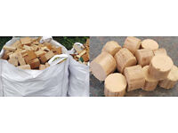 Wood Briquettes REDUCED Kiln Dried Hardwood Firewood REDUCED