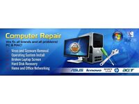 Cheap LAPTOP and PC Repairs **NO FIX NO FEE ** / *** FREE CALL OUT SERVICE ****