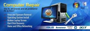 In Home PC and Mac Repair , Training