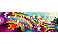 Slades Farm Festival 16th July 2017