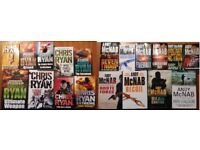 Books - Andy McNab & Chris Ryan