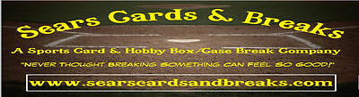 Sears Cards and Breaks