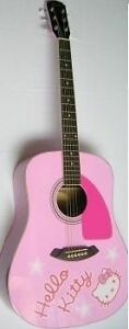 Guitare acoustique ( Fender ) d'Hello Kitty Saguenay Saguenay-Lac-Saint-Jean image 2
