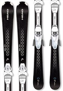 New Head Easy Joy downhill skis & binding womens 142 149 156 cm
