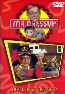 Mr. Dress-up - Tickle Trunk Treasures (DVD) (NEW) (RED, BL