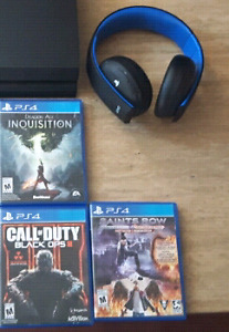 Ps4 headset and bo3