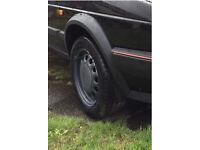 Mk2 golf steel wheels