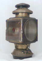 Vintage Cowl Oil Lamp for early Brass Automobiles