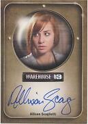 Warehouse 13 Autograph